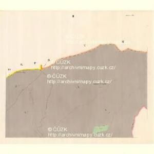 Zaschau (Zassow) - m3563-1-002 - Kaiserpflichtexemplar der Landkarten des stabilen Katasters