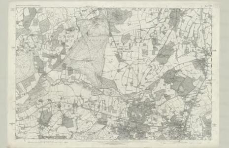 Surrey XXVI - OS Six-Inch Map
