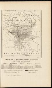 Libération et agrandissements successifs des états Balkaniques