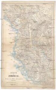 Karte von Albanien