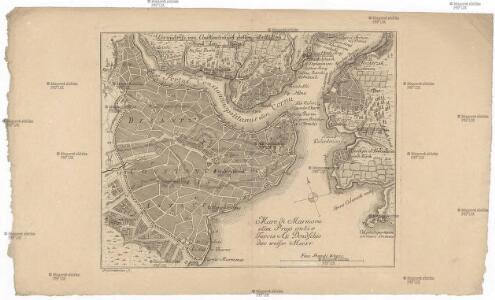 Grundriss von Constantinopel dessen Vorstadten und dem Häfen