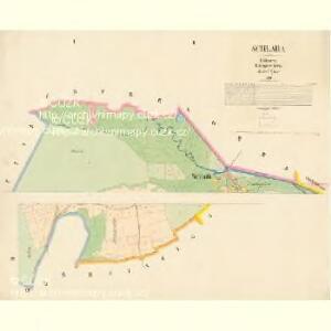 Schlada - c7003-1-001 - Kaiserpflichtexemplar der Landkarten des stabilen Katasters