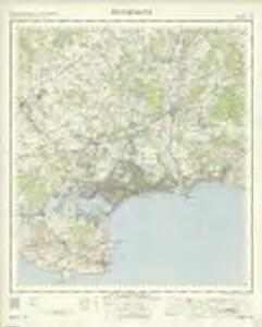Bournemouth - OS One-Inch Map