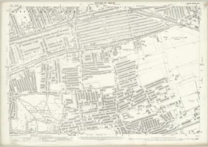 London (Edition of 1894-96) XLIII (includes: East Ham; West Ham) - 25 Inch Map