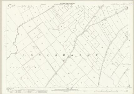 Lincolnshire XL.16 (includes: Conisholme; Grainthorpe; North Somercotes; South Somercotes) - 25 Inch Map