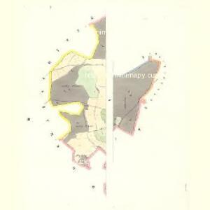Wognitz (Wognice) - c8735-1-001 - Kaiserpflichtexemplar der Landkarten des stabilen Katasters