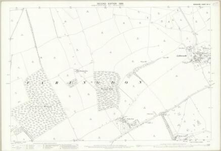 Berkshire VIII.6 (includes: Great Faringdon) - 25 Inch Map