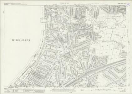 Surrey XII.4 (includes: Kingston Upon Thames; Surbiton; Twickenham St Mary The Virgin) - 25 Inch Map