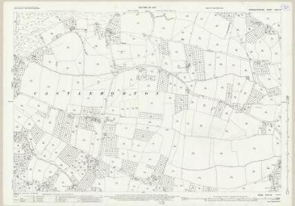 Worcestershire XLVII.13 (includes: Castlemorton) - 25 Inch Map