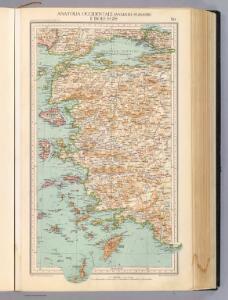 90. Anatolia occidentale, Isole Egee.