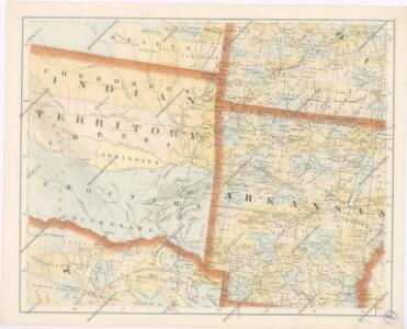 Special -Karte der Vereinigten Staaten von Nord - America No 9.