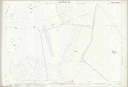 Wiltshire LV.6 (includes: Bulford; Cholderton; Milston; Shipton Bellinger) - 25 Inch Map