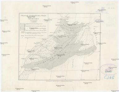 Physisch-geographische Skizze von Marokko