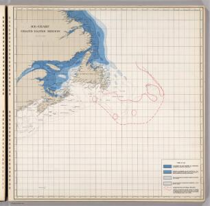 Ice Chart, Grand Banks Region, January.