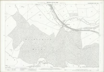 Gloucestershire XXXV.11 (includes: Chedworth; Withington) - 25 Inch Map