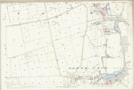 Yorkshire CCXXIV.6 (includes: Hotham; North Cave) - 25 Inch Map
