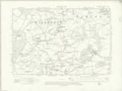 Hampshire & Isle of Wight X.NW - OS Six-Inch Map