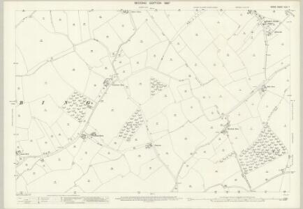 Essex (1st Ed/Rev 1862-96) XXIV.7 (includes: Bardfield Saling; Stebbing) - 25 Inch Map
