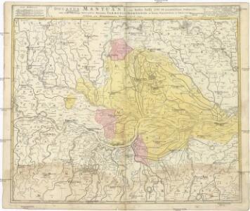 DUCATUS MANTUANI, ceu Sedis belli 1733-35 recentissima Delineatio