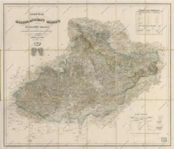 General Karte der Markgrafschaft Mähren und des Herzogthum ́s Schlesien