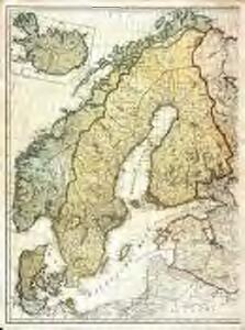 Zweiter Theil der Karte von Europa welcher Dænemark, und Norwegen, Schweden, und Russland enthælt, 2