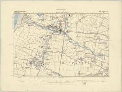 Somerset XXXVIII.NW - OS Six-Inch Map
