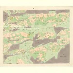 Ober Beczwa (Horny Bečwa) - m0763-1-010 - Kaiserpflichtexemplar der Landkarten des stabilen Katasters