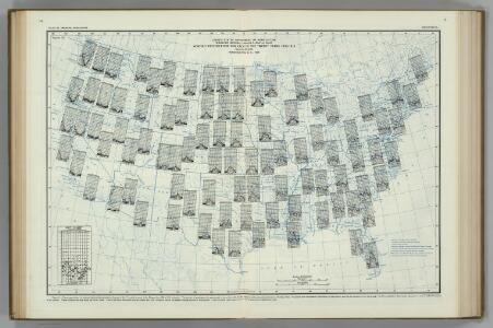 Monthly Precipitation.  Atlas of American Agriculture.
