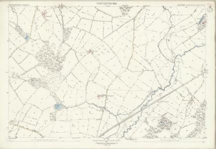 Shropshire LVI.15 (includes: Eaton Under Haywood; Rushbury) - 25 Inch Map