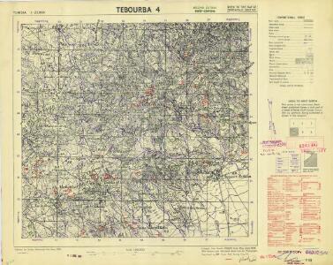 Tunisia 1: 25,000, Tebourba 4
