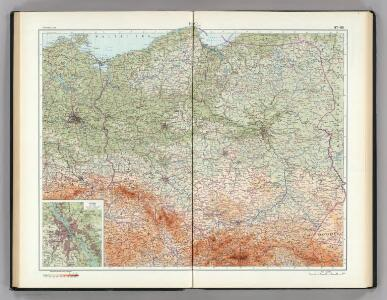 87-88.  Poland.  The World Atlas.