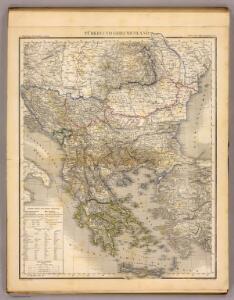 Turkei u. Griechenland.