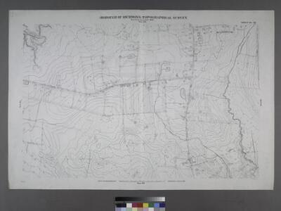 Sheet No. 82. [Includes Sharrotts Road, Pleasant Avenue and Kaolin Avenue in Woodrow.]; Borough of Richmond, Topographical Survey.