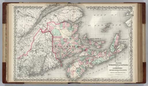 Canada. New Brunswick, Nova Scotia and Prince Edward island.