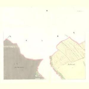 Ausilau (Auslow) - c8266-1-002 - Kaiserpflichtexemplar der Landkarten des stabilen Katasters