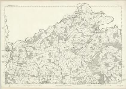 Monmouthshire I - OS Six-Inch Map
