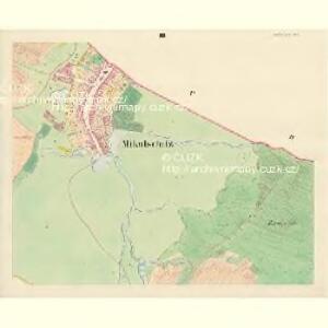 Mikulschitz (Mikulčzice) - m1784-1-003 - Kaiserpflichtexemplar der Landkarten des stabilen Katasters