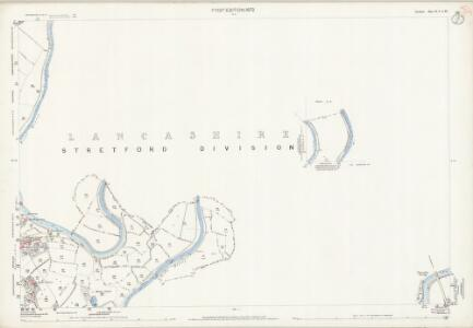 Cheshire X.9 & X.13 (includes: Cheadle and Gatley; Manchester) - 25 Inch Map
