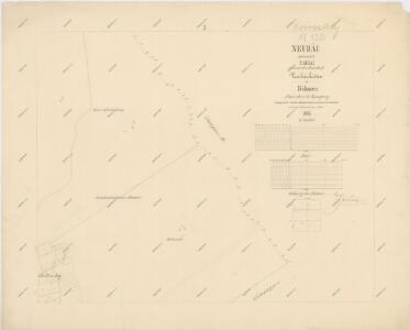 Katastrální mapa obce Novosedly WC-XIV-25 bc