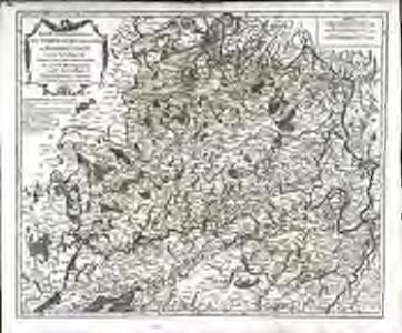 Partie septentrionale du comté de Bourgogne ou Franche-Comté