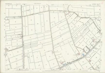 Cambridgeshire VII.1 (includes: Leverington; Parson Drove; Wisbech St Mary) - 25 Inch Map