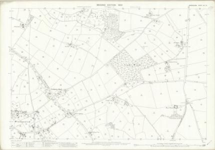 Shropshire XVI.14 (includes: Hinstock; Stoke Upon Tern; Sutton Upon Tern) - 25 Inch Map