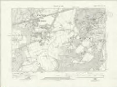 Surrey XII.SW - OS Six-Inch Map