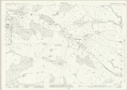 Staffordshire XL.14 (includes: Branston; Dunstall; Tatenhill) - 25 Inch Map