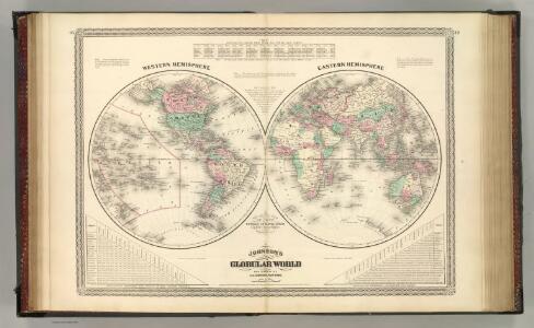 Western Hemisphere.  Eastern Hemisphere.