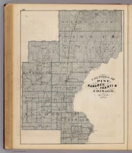 Counties of Pine, Kanabec, Isanti & Chisago, Minn., 1874.
