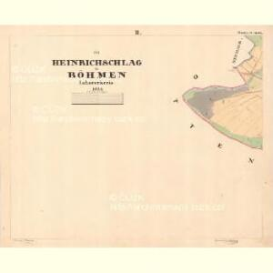 Heinrichslag - c2915-1-002 - Kaiserpflichtexemplar der Landkarten des stabilen Katasters