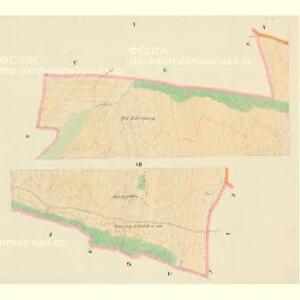 Bukowsko - c1264-1-001 - Kaiserpflichtexemplar der Landkarten des stabilen Katasters