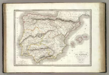 L'Iberie ou Espagne ancienne.
