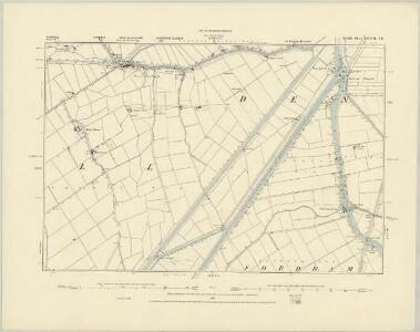 Norfolk LXVIII.SW - OS Six-Inch Map
